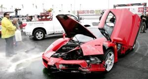 Eddie Griffin Crashes a Ferrari
