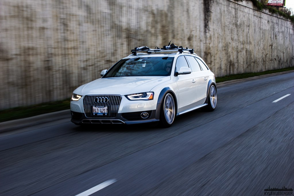 Slammed Audi A4 Allroad 7 Cars One Love