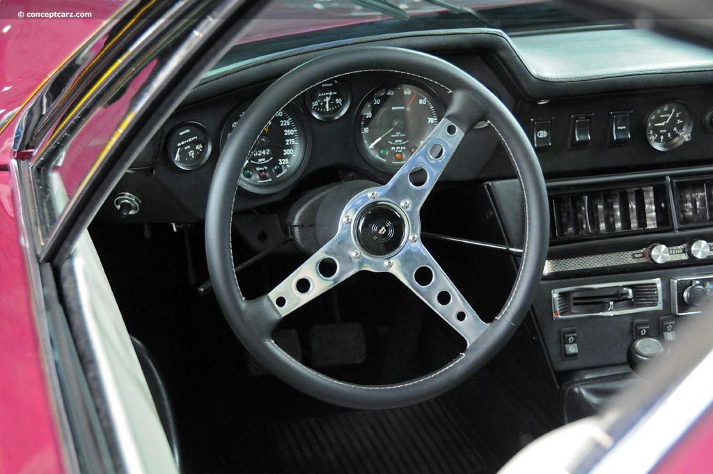 1970 Monteverdi Hai 450 SS Interior